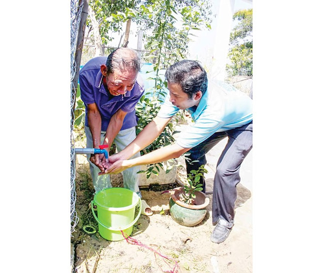 TPHCM - Không thực tế 100% hộ dân dùng nước sạch ảnh 1