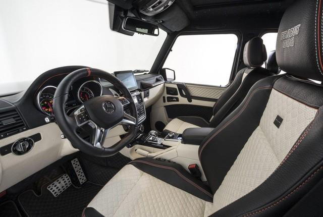 Brabus G65 - Xe off-road mạnh nhất thế giới, giá lên đến 18,16 tỷ Đồng - Ảnh 7.
