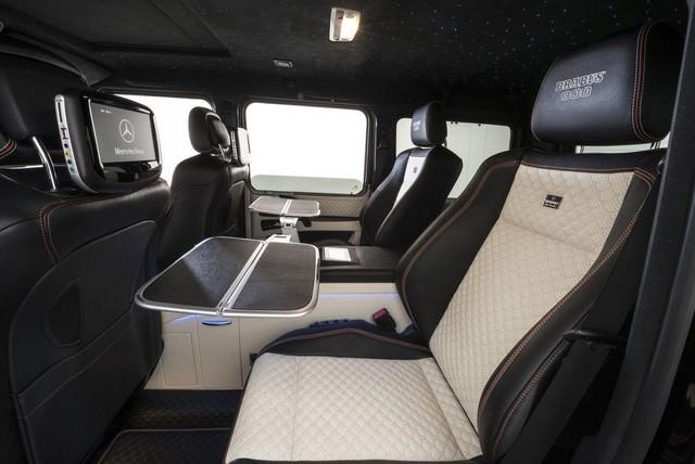 Brabus G65 - Xe off-road mạnh nhất thế giới, giá lên đến 18,16 tỷ Đồng - Ảnh 11.