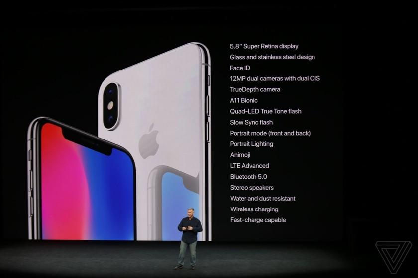 iPhone 8/8 Plus và iPhone X chính thức được ra mắt ảnh 7