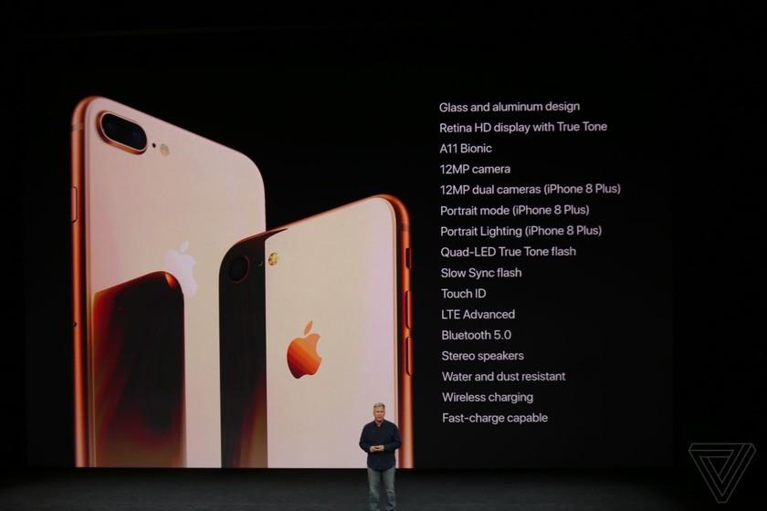 iPhone 8/8 Plus và iPhone X chính thức được ra mắt ảnh 37