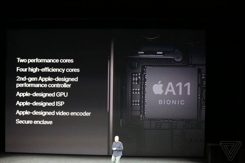 iPhone 8/8 Plus và iPhone X chính thức được ra mắt ảnh 12