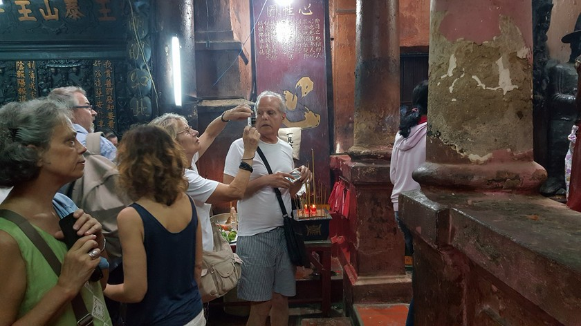Foreign tourist numbers rise again ảnh 2