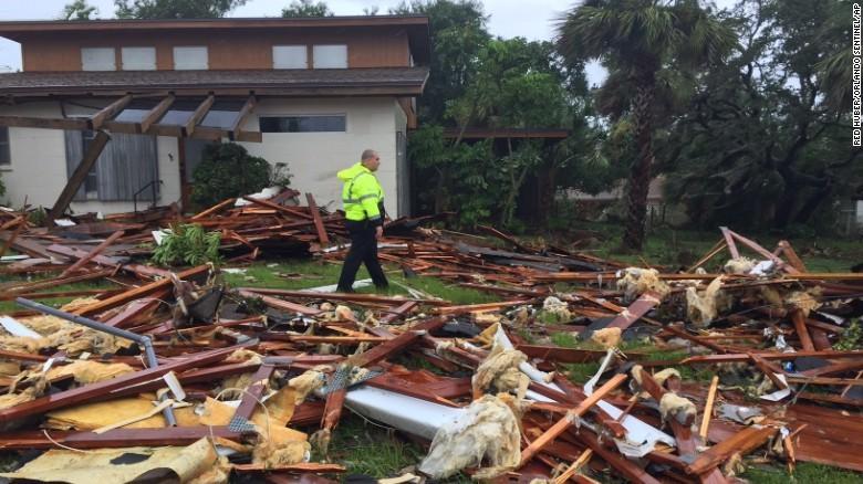 Bão Irma trút cơn thịnh nộ xuống Florida ảnh 5