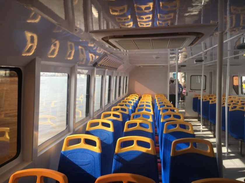 HCMC launches pilot operation of first river bus route ảnh 2