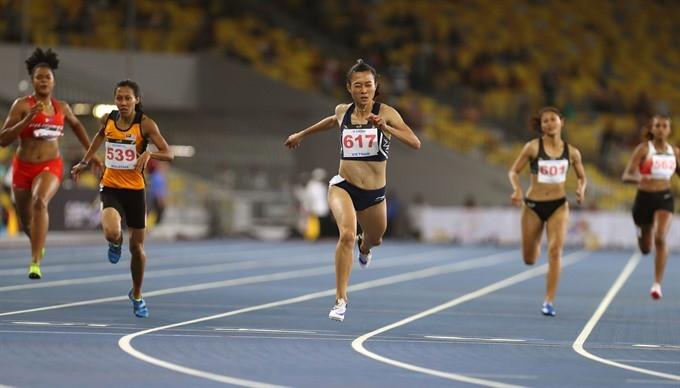 Vietnam athletics on top of ASEAN