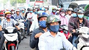 Youth Communist Union appeals youngsters in HCMC to take part in shaping traffic safety culture (Photo: SGGP)