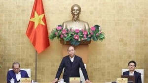 Prime Minister Nguyen Xuan Phuc at the meeting (Photo: VNA)